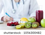 close up of some fruits such as ... | Shutterstock . vector #1056300482