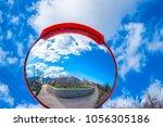 beautiful view from peleta...   Shutterstock . vector #1056305186