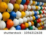 old and worn colorful... | Shutterstock . vector #1056312638