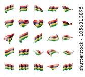mauritius flag  vector... | Shutterstock .eps vector #1056313895