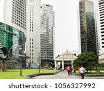 singapore  singapore   january... | Shutterstock . vector #1056327992