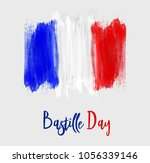 happy bastille day celebration... | Shutterstock .eps vector #1056339146