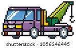 vector illustration of cartoon... | Shutterstock .eps vector #1056346445