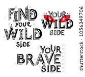 vector inspirational message... | Shutterstock .eps vector #1056349706