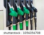 different gas diesel pistols ... | Shutterstock . vector #1056356708