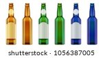 vector realistic blank green ... | Shutterstock .eps vector #1056387005