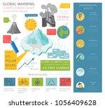 global environmental problems....   Shutterstock .eps vector #1056409628