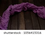 texture of a purple cloth on a...   Shutterstock . vector #1056415316