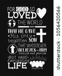 Golden Bible Verse John 3 16...