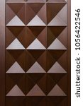 front showcase cabinet or... | Shutterstock . vector #1056422546