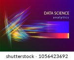 big data vector illustration.... | Shutterstock .eps vector #1056423692