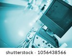 switched off ultrasound... | Shutterstock . vector #1056438566