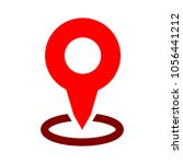 map pointer icon   location... | Shutterstock .eps vector #1056441212