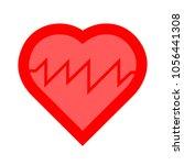 heartbeat monitor icon | Shutterstock .eps vector #1056441308