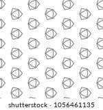 seamless vector pattern.... | Shutterstock .eps vector #1056461135
