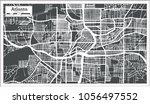 atlanta georgia usa city map in ...   Shutterstock .eps vector #1056497552