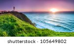 byron bay lighthouse during... | Shutterstock . vector #105649802