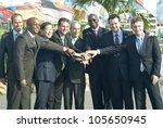 rio de janeiro   june 19  group ... | Shutterstock . vector #105650945