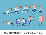 sports achievements  ready at... | Shutterstock .eps vector #1056517412