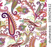 seamless pattern with... | Shutterstock .eps vector #1056524612
