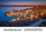 panoramic aerial view of the... | Shutterstock . vector #1056535952