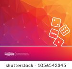 abstract creative concept... | Shutterstock .eps vector #1056542345