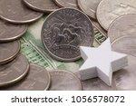a quarter of nevada  quarters... | Shutterstock . vector #1056578072