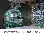 los angeles   mar 26   ready... | Shutterstock . vector #1056582542