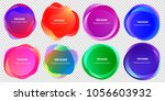 abstract blur shapes color... | Shutterstock .eps vector #1056603932