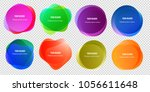abstract blur shapes color... | Shutterstock .eps vector #1056611648