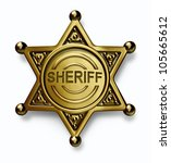 police badge with the word... | Shutterstock . vector #105665612