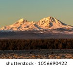 early morning shot of the north ... | Shutterstock . vector #1056690422