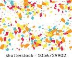 festive color rectangle... | Shutterstock .eps vector #1056729902