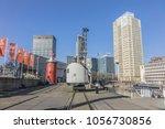 rotterdam  the netherlands  ... | Shutterstock . vector #1056730856