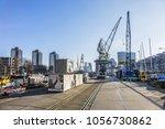 rotterdam  the netherlands  ... | Shutterstock . vector #1056730862