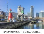 rotterdam  the netherlands  ... | Shutterstock . vector #1056730868