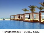 luxury place resort and spa for ... | Shutterstock . vector #105675332