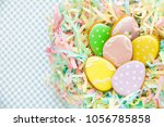 sweets for celebrate easter.... | Shutterstock . vector #1056785858