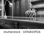 luxurious vintage office...   Shutterstock . vector #1056810926