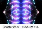 abstract blue creative lights... | Shutterstock . vector #1056825416