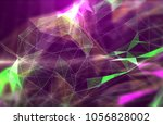 abstract background with... | Shutterstock . vector #1056828002
