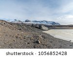 mountains  valleys  frozen lake ... | Shutterstock . vector #1056852428