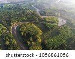 nature deep rainforest mountain ... | Shutterstock . vector #1056861056