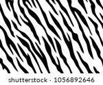 zebra print vector | Shutterstock .eps vector #1056892646