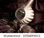 a closeup of persian musical...   Shutterstock . vector #1056893012