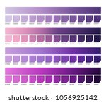 ultra violet pantone color...   Shutterstock .eps vector #1056925142