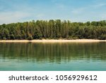 danube river caribic  sap... | Shutterstock . vector #1056929612