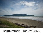 k piti island  waikanae  new... | Shutterstock . vector #1056940868