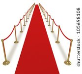 celebrity treatment star vip... | Shutterstock . vector #105698108