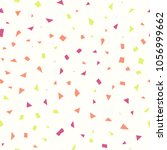 abstract geometric confetti... | Shutterstock .eps vector #1056999662